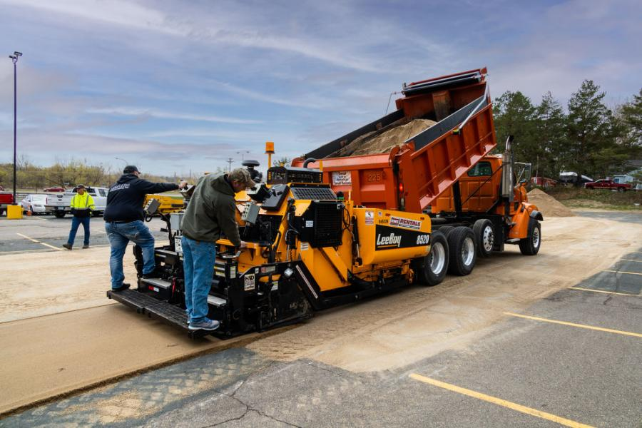 Dealers brought their equipment to the MAPA training event so students could have a first-hand look at the equipment and how to use it.