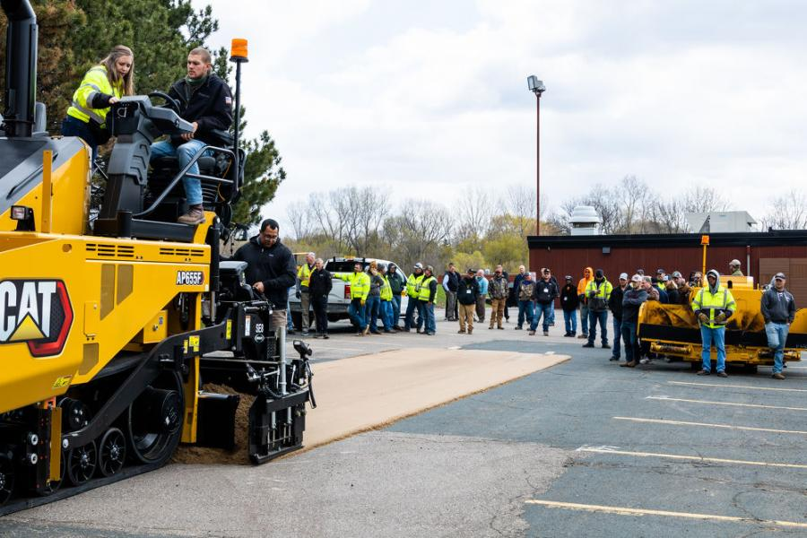 More than 65 trainees attended, including companies who do MNDOT work, small-scale driveway pavers and county maintenance crews.