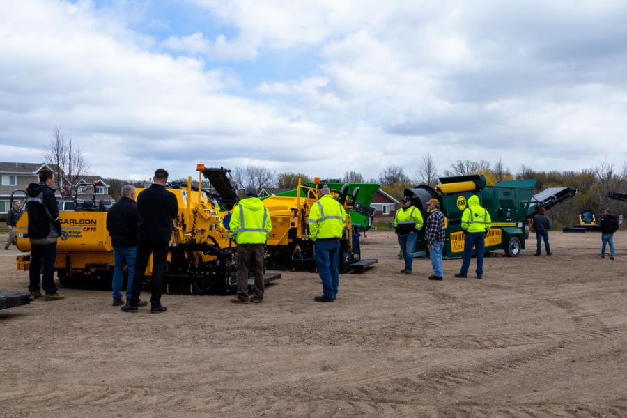 The Minnesota Asphalt Pavement Association (MAPA) held its inaugural Paving and Compaction Training Event April 20 to 22 at the Medina Entertainment Center in Medina, Minn.