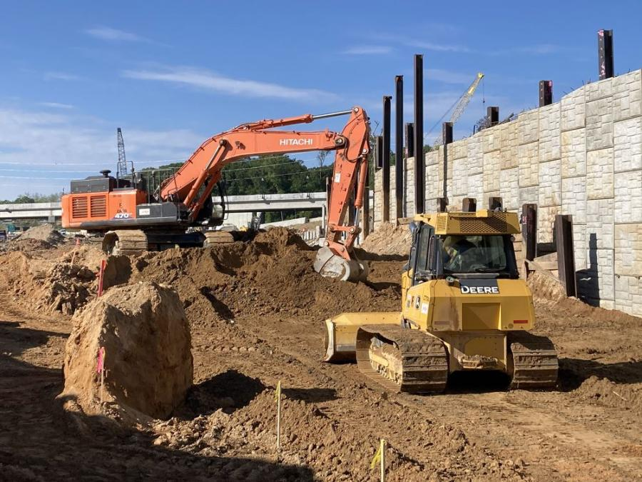 Crews from E.R. Snell Contractor Inc. and C.W. Matthews Contracting Company Inc. are making considerable progress to complete the $63 million, Phase 1 of the I-16/I-75 Improvement Project this summer and Phases 2 and 3 this upcoming winter.