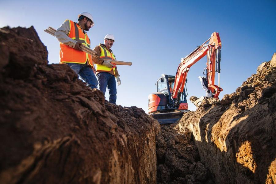 The U48-5 is a brand-new machine that gives Kubota and customers flexibility in the compact excavator model line up across conventional and reduced tail swing offerings in the 2-to-6-ton weight classes.