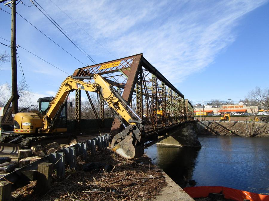 Construction crews in Paterson, N.J., have begun work to replace a more than 100-year-old structure that's carried thousands of vehicles per day.