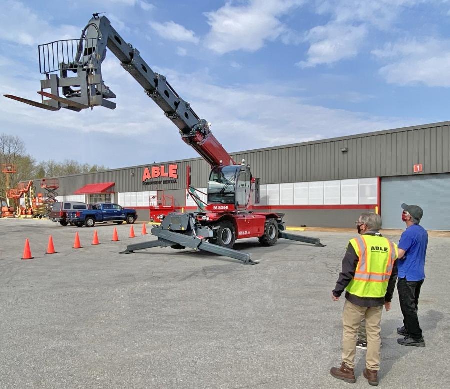 ABLE hosted two days of demonstrations at three of its locations, including West Chester, Pa.