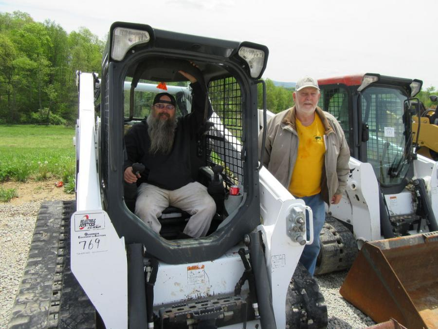 Dave Harper of Dave Harper Construction, based in Uniontown, Pa., recruited his father, Ron Harper, to assist in his search for a skid steer.
