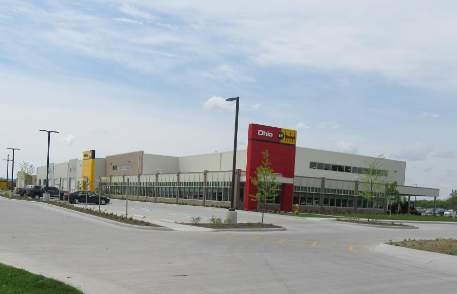 Located at 13017 Eckel Junction Rd. in Perrysburg, the new facility includes a 65,250-sq.-ft. building consisted of shop space, a parts warehouse and office space for Ohio CAT's machine sales, rental, parts and service personnel. Other equipment-related space includes an 8,300-sq.-ft. wash building and a 5,940-sq.-ft. cold storage structure.