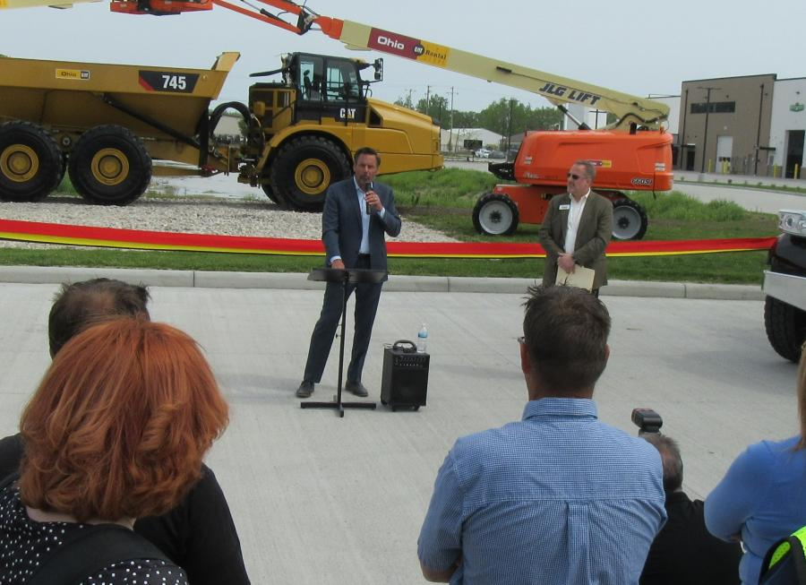 Marous Brothers Construction President Chip Marous discussed the company's long and rewarding relationship with Ohio Machinery, working on a total of 27 projects for the company, culminating in the construction of the all-new Perrysburg Ohio CAT, The Cat Rental Store and Ohio Peterbilt campus.
