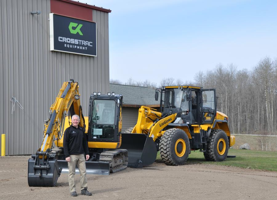 Scot Jenkins, owner and president of CrossTrac Equipment, is adding the LiuGong line to his offerings.