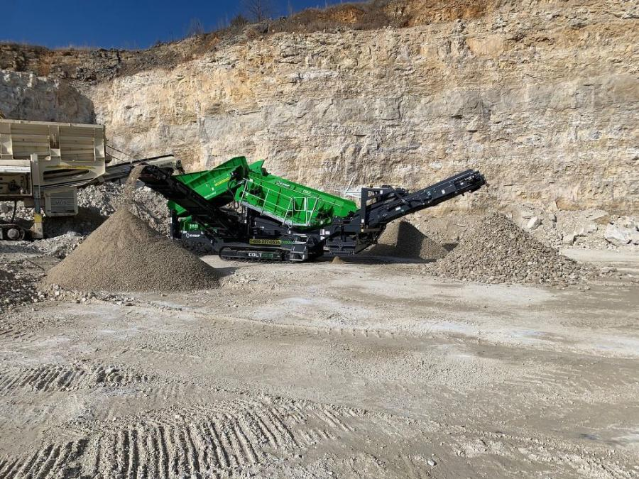 The Colt 1600 heavy duty screener is just one of the machines available at the new facility in Indianapolis.