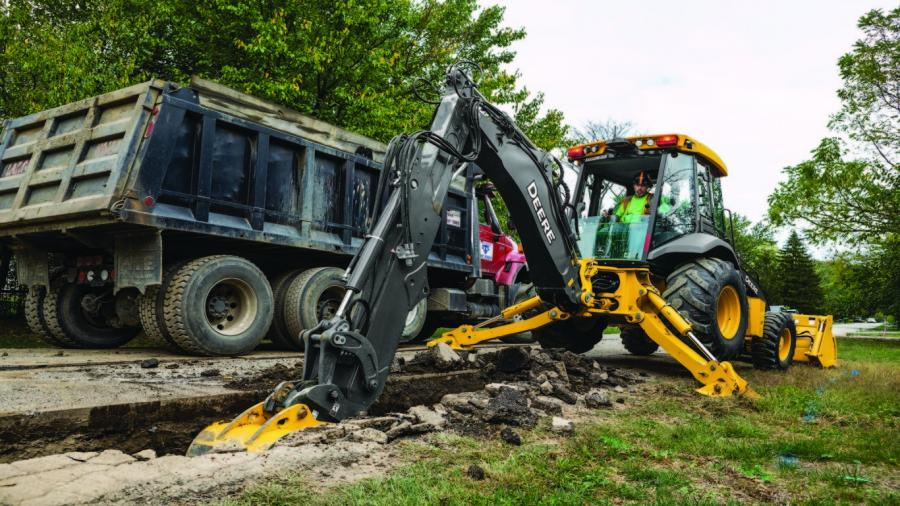 The 310L, the latest generation of the original model, remains a cornerstone within the John Deere backhoe lineup as a result of the continuous improvement to the design and efficient performance.