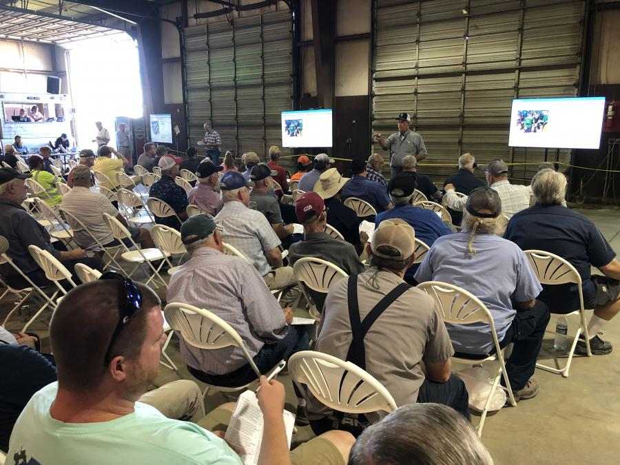 The well-attended auction attracted bidders from throughout the southeast and nine foreign countries via the Internet.