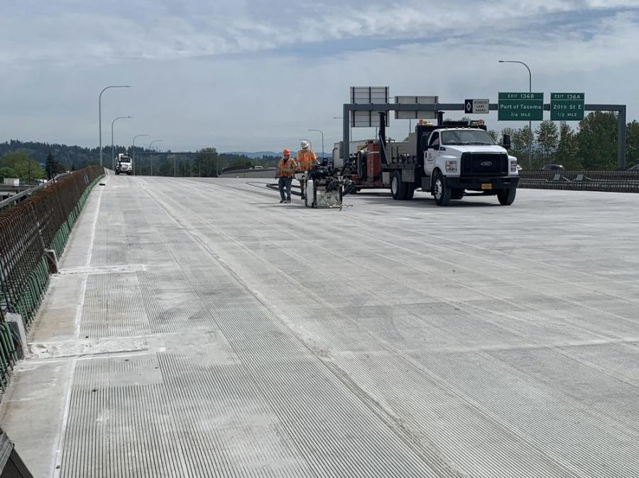The Revive I-5 project has hit full stride as major repaving and expansion joint replacement work began on southbound Interstate 5 between Interstate 90 and Spokane Street.