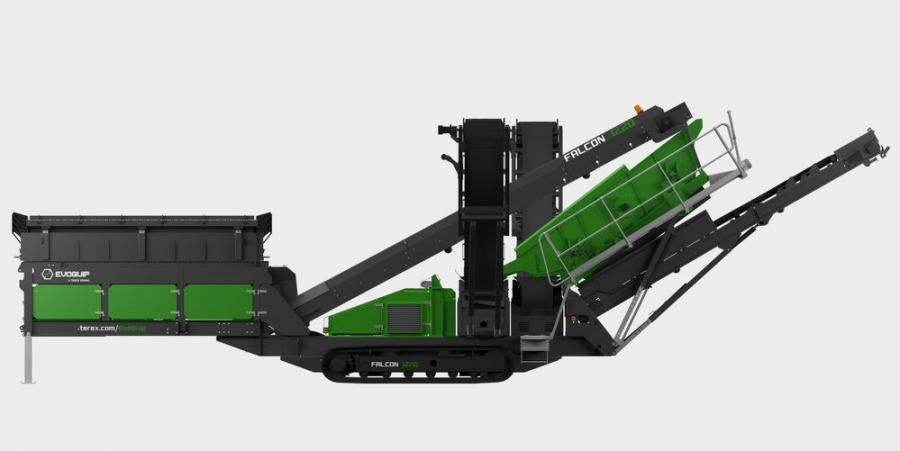 With their enhanced screen angle range, EvoQuip's Falcons provide efficient classification of fines and are ideal for multiple applications and processing materials including sand and gravel, crushed stone, coal, topsoil and demolition waste, according to the manufacturer.