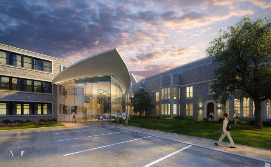 """The facility will be located at the Delaware Avenue campus and is the largest in the college prep school's """"Rich Tradition Bold Vision"""" capital campaign, one that is now approaching $20 million."""
