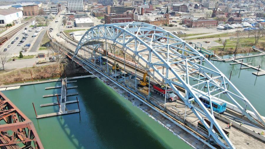 合同被授予Fay为1540万美元,并逐步建设。匹兹堡公司的船员于2020年8月开始在这个项目上工作,将在2022年夏天完成。