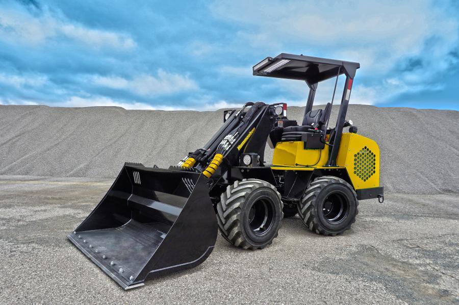 Hummerbee宣布很快将释放其最新的粗糙地形机,伸缩式紧凑型铰接式装载机。