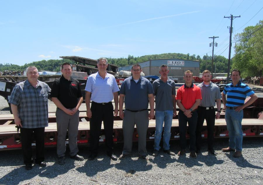 Tri-State Trailer Sales Inc.'s sales and administration team, at the company's headquarters location in Pittsburgh, Pa., is ready to serve the construction equipment marketplace.