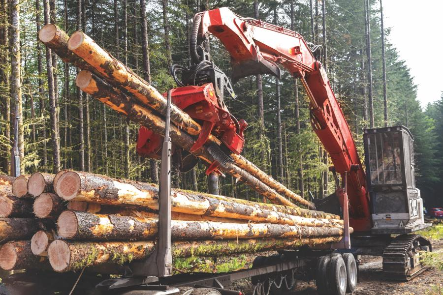 A shorter tilt frame helps with loading trucks and improves reach with higher deck piles. Plus, the large delimb opening enables operators to grab multiple logs.