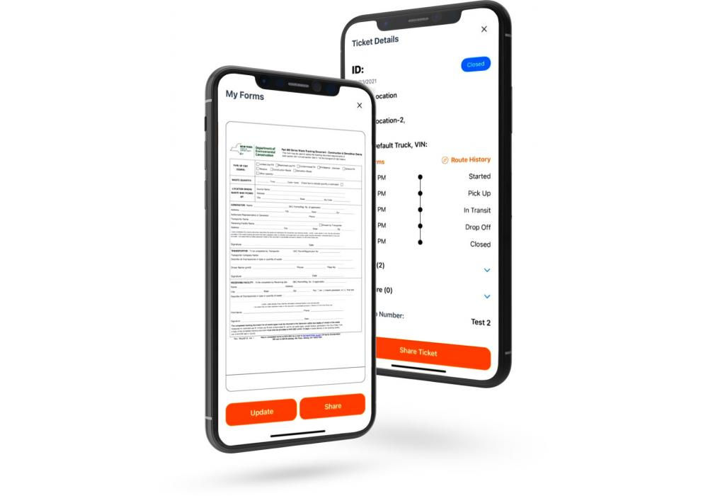 eRegulatory provides a digital database for all manifests, providing a record of all routes and deliveries all in one place. All of this information is captured automatically, making it easier than ever for contractors to share data for compliance with local regulatory bodies in a standard PDF format.