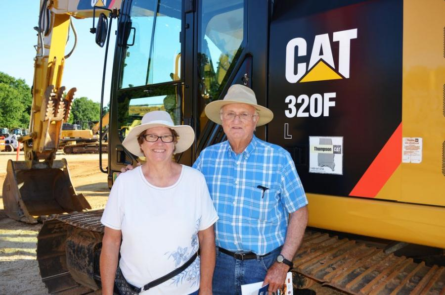 This Cat 320F was the main machine that Doris Stone and Joseph McConnell of JM Farms, Athens, Ala., came to auction to buy.