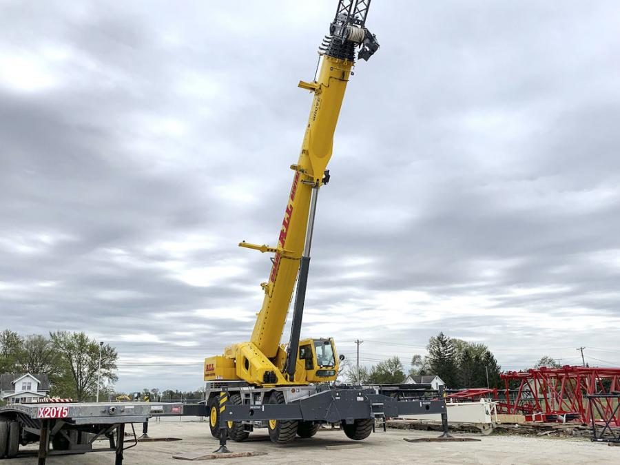 All Crane is expanding its fleet of rough-terrain (RT) cranes.