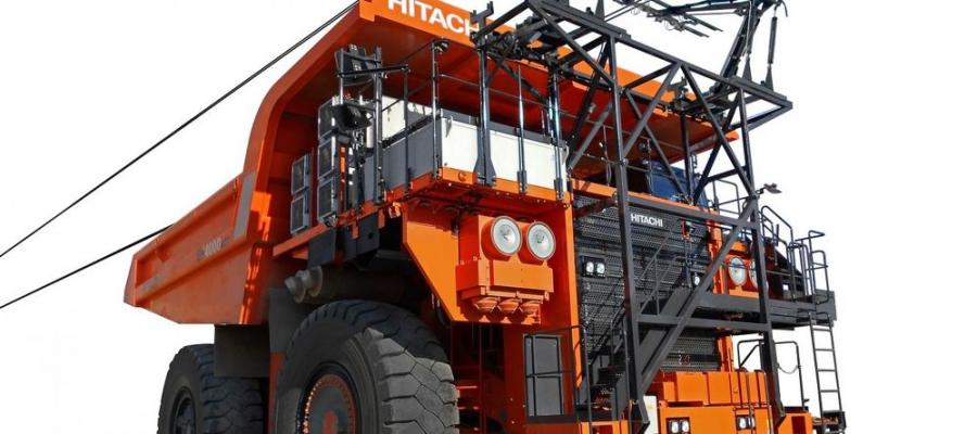 Utilizing ABB's innovative battery technology, Hitachi Construction Machinery trucks can be transformed from diesel to full electric battery operation.