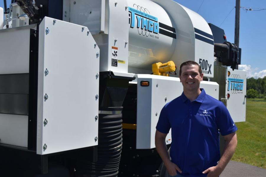Joe Planeta is the latest addition to the J & J Equipment sales staff.  Planeta is handling sales in the eastern part of New York State.