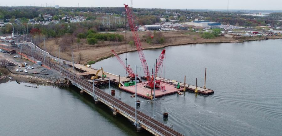 NJ TRANSIT is replacing the 113-year-old, 2,920-ft.-long Raritan River Bridge, constructed by the Pennsylvania Steel Company and McCullen and McDermott, as part of its Resilience Program