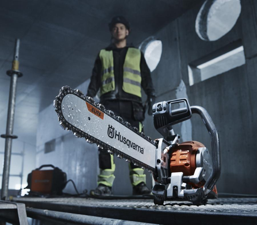 The new Husqvarna range of diamond chains is launchedin several variants optimized for different materials and applications.