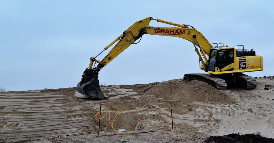 The prime contractor is Graham Construction Inc. of Omaha. (Graham Construction Inc. photo)