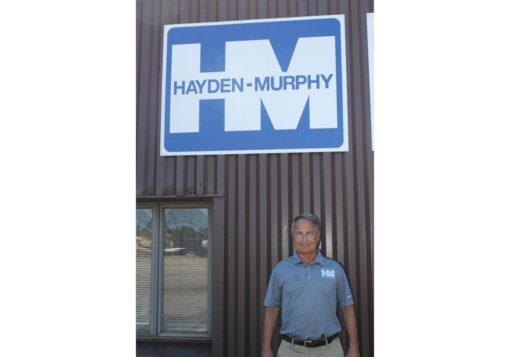 """Don Knackstedt, president of Hayden-Murphy, is excited about the new location. """"The large yard, rental and sales possibilities in this area is growing and there is a need for equipment in the mining, forestry and aggregate sectors in this area,"""" he said. """"We also have some really great people that will be working here."""""""
