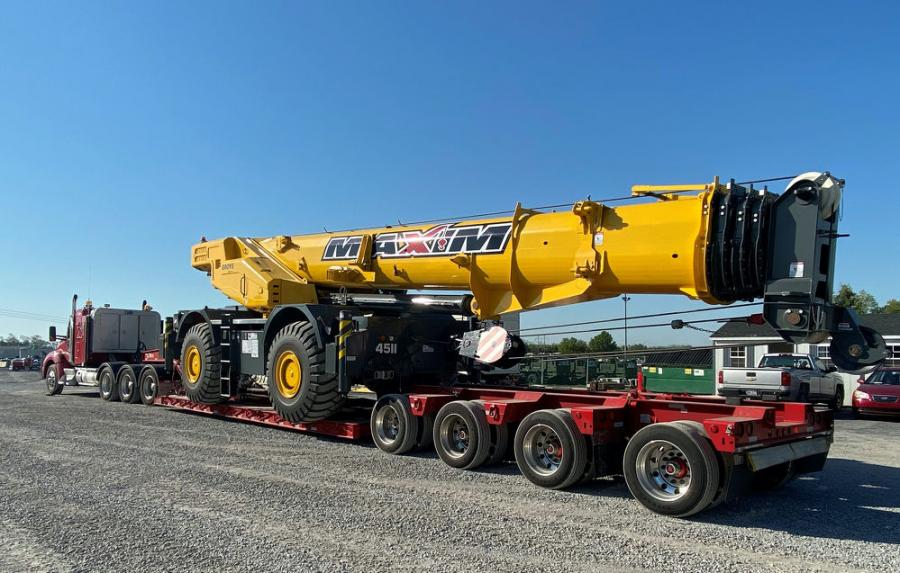 The 51-crane purchase includes three GMK5250XL-1 ATs, which features the longest boom of any five-axle crane in the industry.