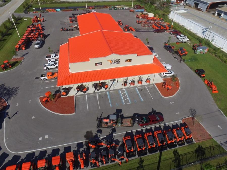 Todd Bachman, president of Florida Coast Equipment, said Florida Coast Equipment would be breaking ground on a brand new facility within 12 months, with a temporary dealership set up by the end of the year.