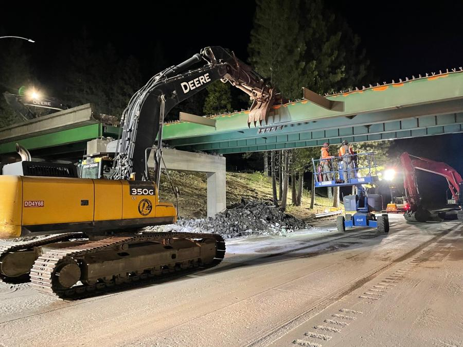 Walsh Construction is the general contractor for the $57 million initiative that is demolishing and replacing four concrete structures in Crystal Springs, Baxter, Drum Forebay and Cisco Grove.