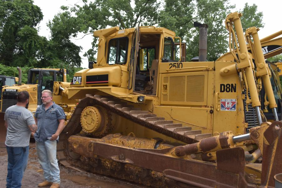 Check out this big old beast … a 1988 Cat D8N was looking for a new home.