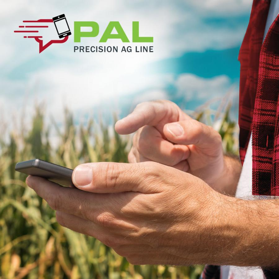 AGCO's Precision Ag Line (PAL) is designed to streamline support services for farming customers using AGCO solutions with mixed-fleet operations. The service easily connects customers with precision ag experts via phone or text message. PAL is being piloted now with several North American dealers with plans for expansion in 2021 and 2022.