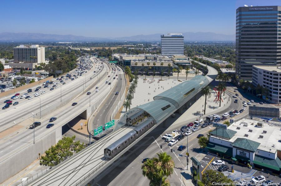 The Sepulveda megaproject is a planned 10-mi. fixed guideway through challenging geography. The project's goal is to connect the San Fernando Valley with the Los Angeles Westside and eventually Los Angeles International Airport (LAX) via a high-speed, high-capacity public transit line.