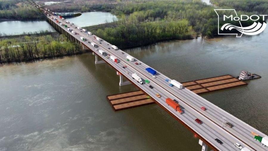 The Missouri Highways and Transportation Commission announced the selection of the Lunda Team as the design-build contractor to replace the Interstate 70 Missouri River Bridge near Rocheport.