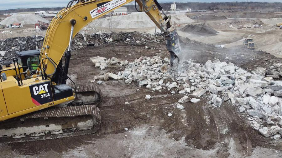 The Cat P224 secondary pulverizer delivers up to 44 percent faster cycle times and up to 20 percent better force in concrete demolition, resulting in up to 15 percent greater performance in secondary material processing applications, the manufacturer said.