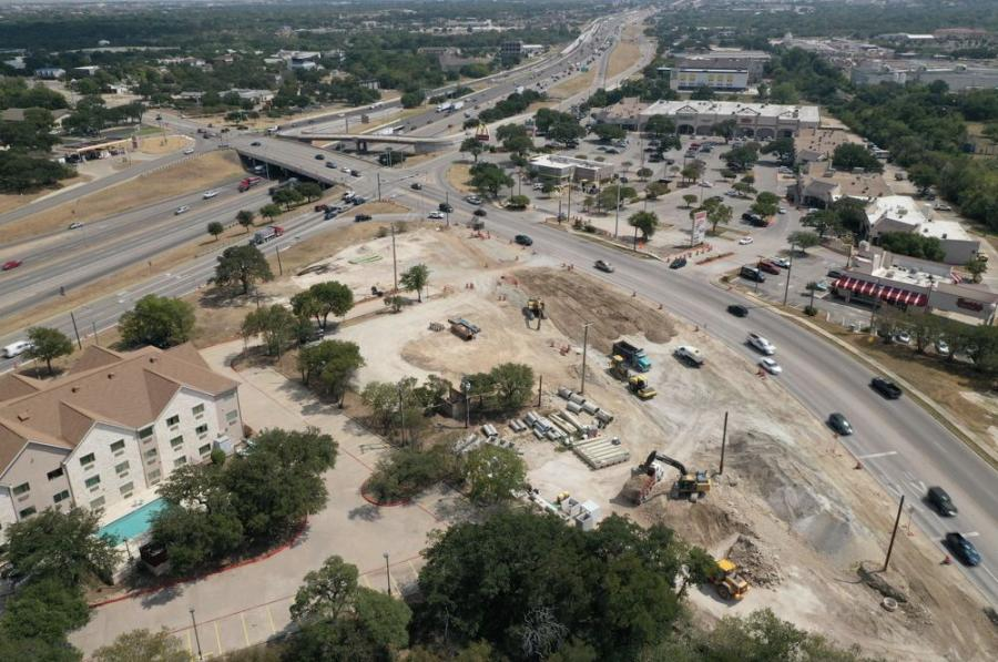 Bridges and Roads LLC is the general contractor for the $27 million project that will feature a new roundabout and overpasses on RM 620 in Round Rock.