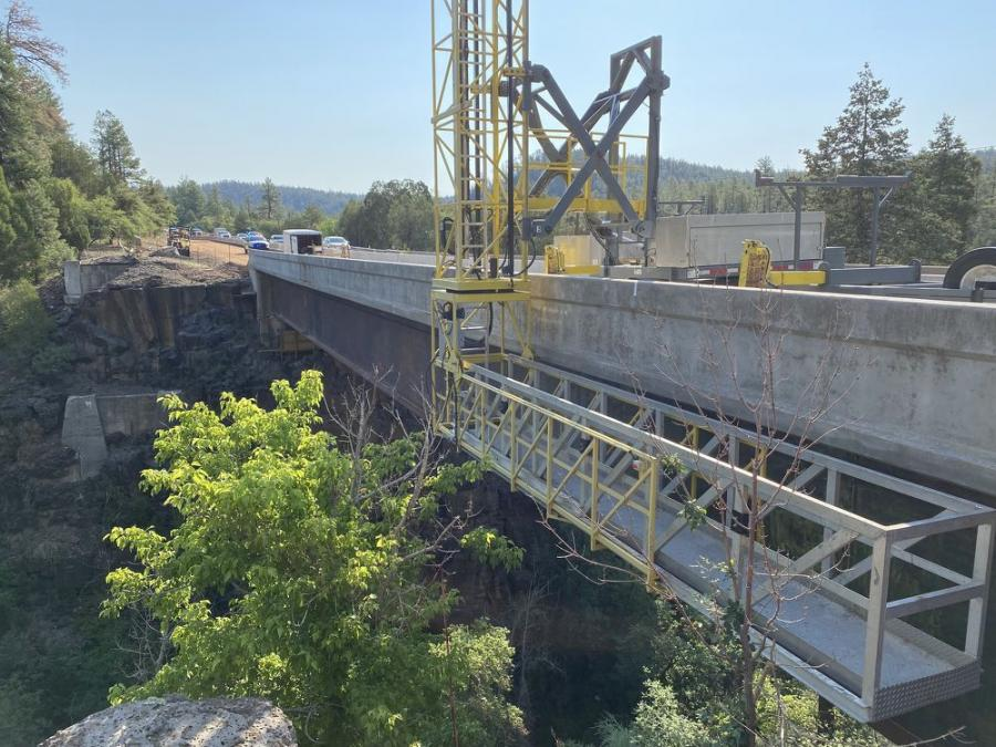 Officials from the Arizona Department of Transportation are in the process of replacing the current bridge deck with reinforced 8-in. thick concrete and to replace deck drains, deck joints and bridge barrier transitions, among a host of other improvements.