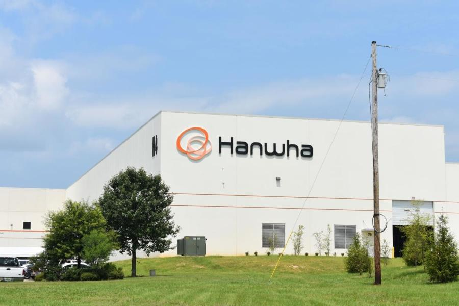 Hanwha's current facility sits in the Northeast Opelika Industrial Park and currently manufacturers automotive parts for the Hyundai assembly plant in Montgomery and the Kia plant in West Point, Ga.