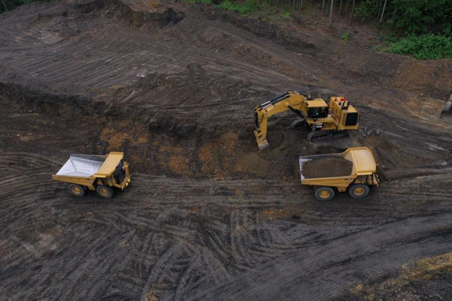 Reading Anthracite Company purchased a Cat 6020B hydraulic mining shovel and two Cat 777G 100-ton haul trucks from Cleveland Brothers Equipment Company Inc. in order to develop its newest mine, Pine Knot, in Schuylkill County.