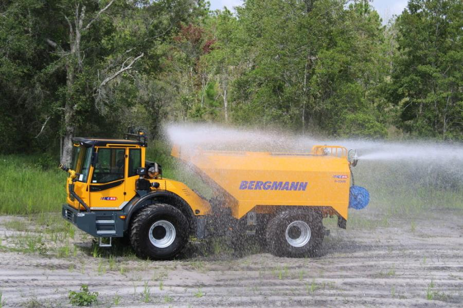 New for 2021 is the C815s Bergmann 3,000 gal. off road water truck.