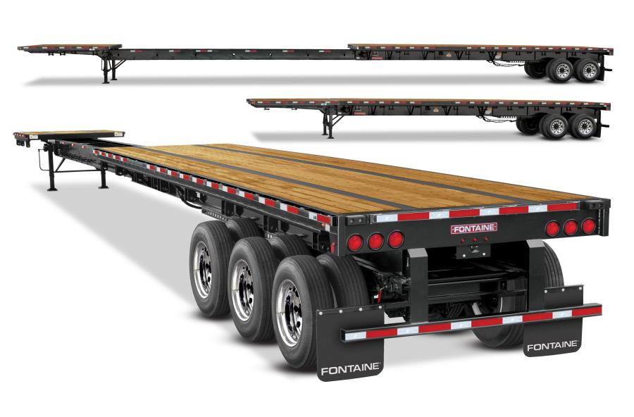 The four new Xcalibur extendable models are 53 ft. in the closed position and 90 ft. fully opened.