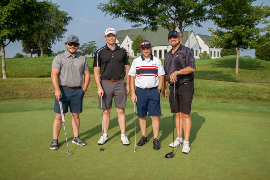 Congratulations to Sean McBride (USI); Tony Diehl (PWS Inc.); James Dickey (PWS Inc.); and Isiah Dilley (PWS Inc.) on their winning team score of 56.