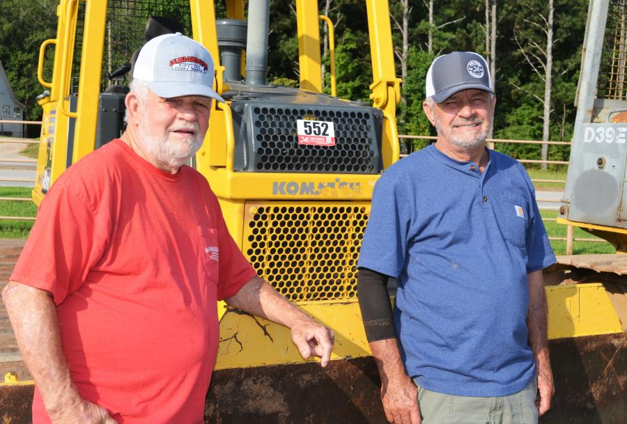 Even in retirement, Bill Owen (L) and Barry Owen, former pipeline contractors from Heflin, Ala., are still passionate about heavy equipment.