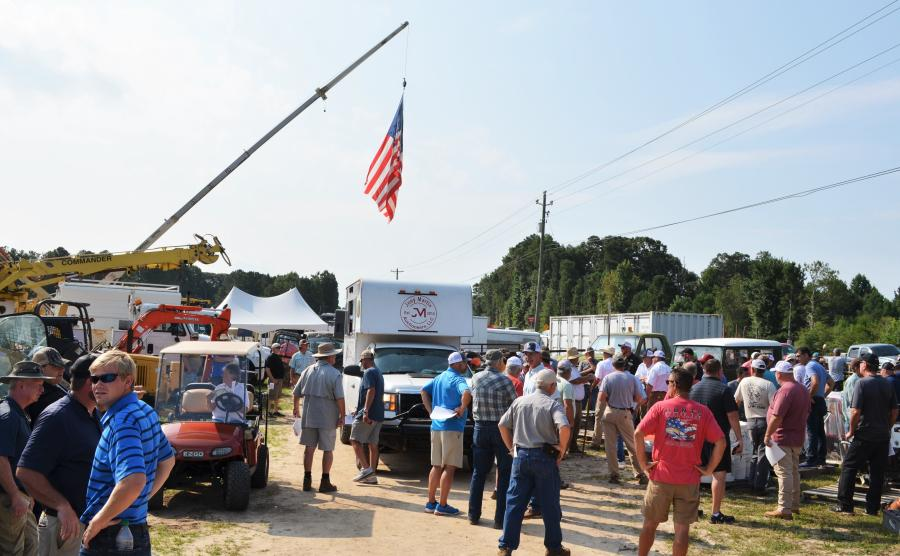 The hottest spot and most-attended event in Carrollton, Ga., on Aug. 11 was definitely the Joey Martin Auctioneers sale.