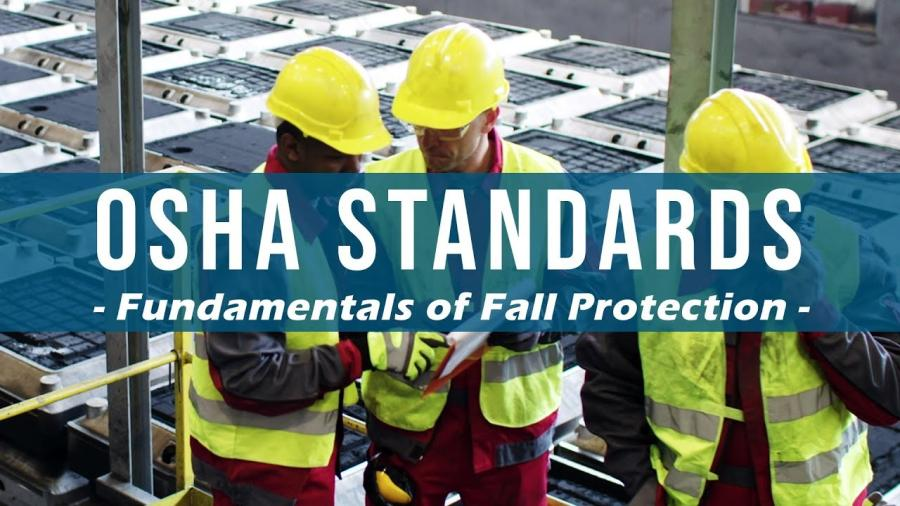 The free course features insights from industry leaders, along with practical demonstrations, a review of relevant requirements, and a discussion of terms and processes related to fall protection in the industry.