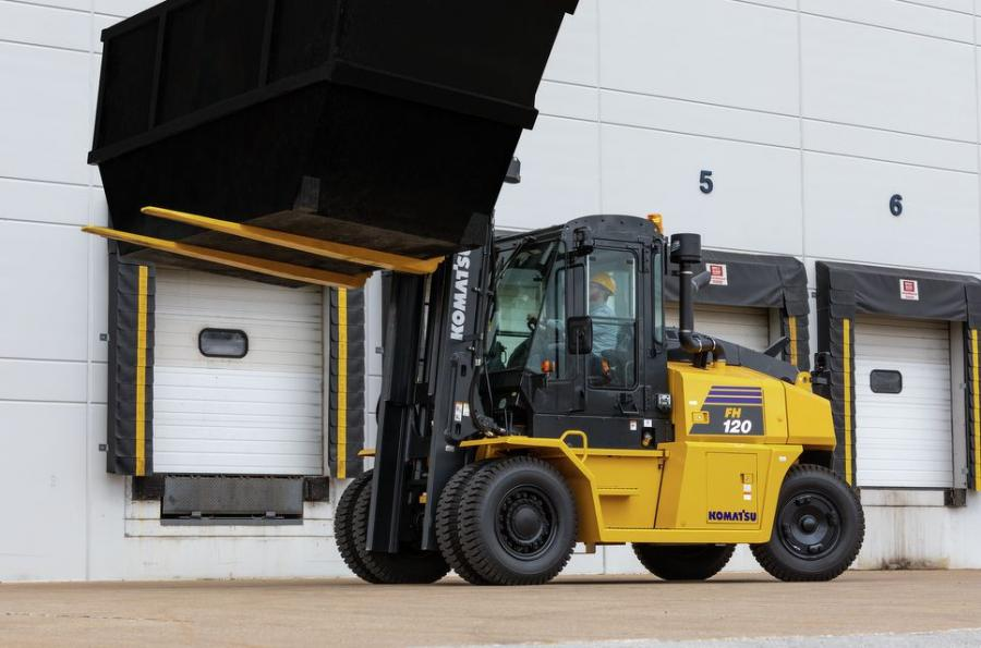 The hydrostatic drive system allows FH100-160 forklifts to shuttle continuously with virtually no wear on drive and brake components, meaning more uptime and reduced maintenance costs.