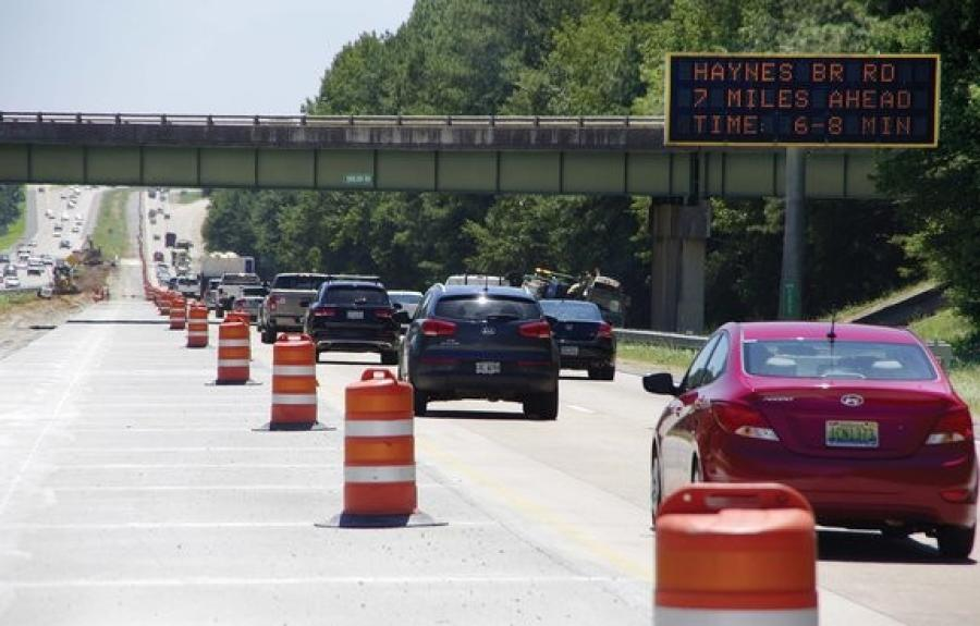 The Georgia 400 project is part GDOT's plans to relieve traffic congestion by adding a series of toll lanes across metro Atlanta.(Dave Williams, Capitol Beat News Service photo)